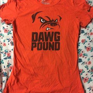 8edccaab Nike Cleveland Browns Dawg Pound Tee
